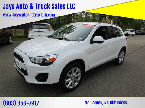 2014 Mitsubishi Outlander Sport for sale at Jays Auto & Truck Sales LLC in Loudon NH