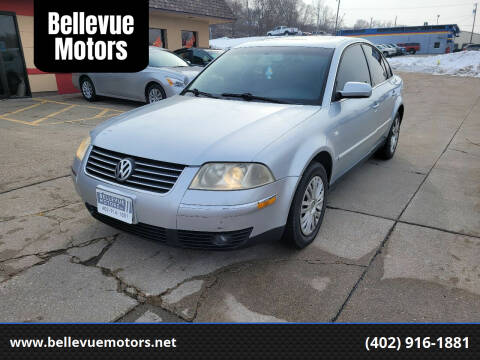2003 Volkswagen Passat for sale at Bellevue Motors in Bellevue NE
