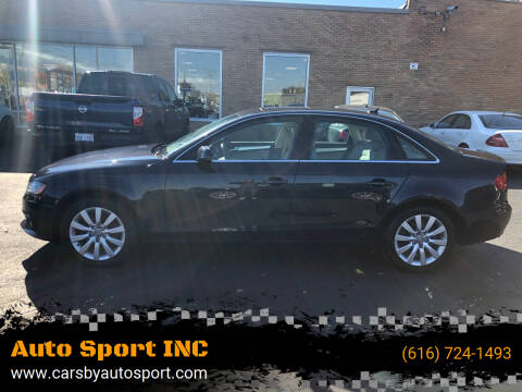 2012 Audi A4 for sale at Auto Sport INC in Grand Rapids MI