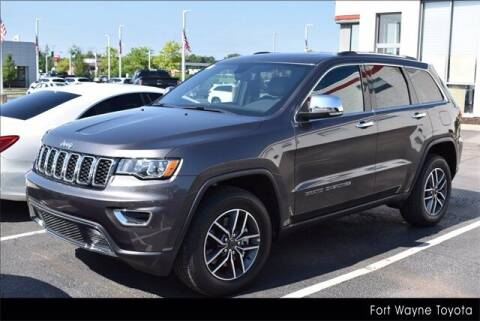 2021 Jeep Grand Cherokee for sale at BOB ROHRMAN FORT WAYNE TOYOTA in Fort Wayne IN