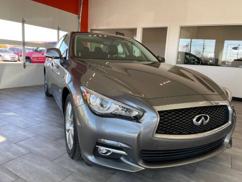 2017 Infiniti Q50 for sale at Evolution Autos in Whiteland IN