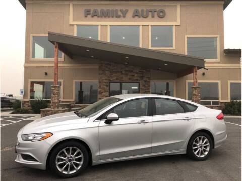 2017 Ford Fusion for sale at Moses Lake Family Auto Center in Moses Lake WA