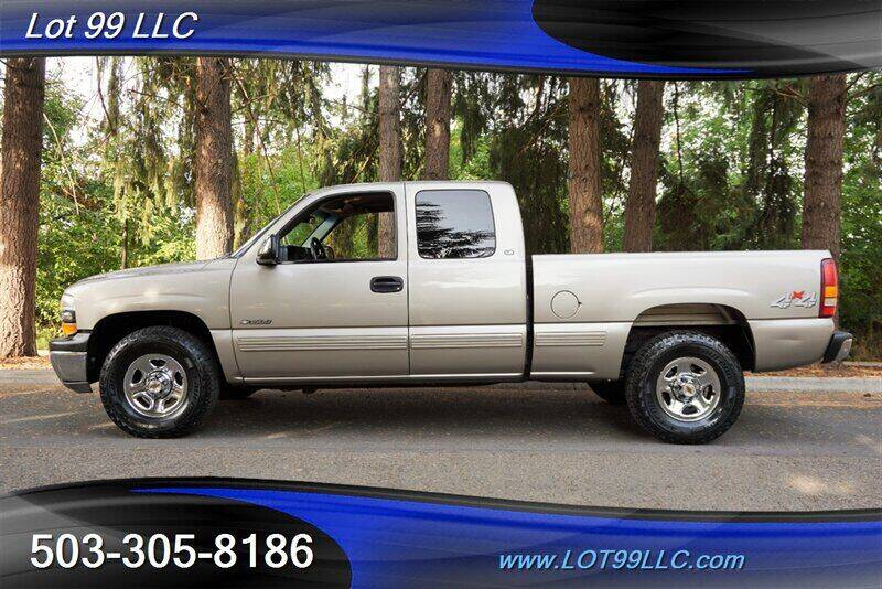2000 Chevrolet Silverado 1500 for sale at LOT 99 LLC in Milwaukie OR