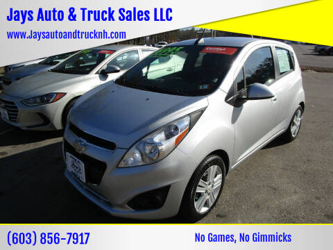 2015 Chevrolet Spark for sale at Jays Auto & Truck Sales LLC in Loudon NH