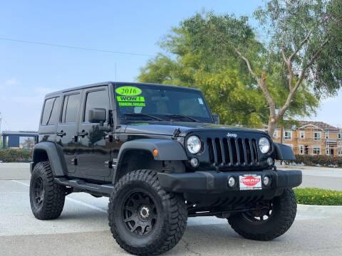 2016 Jeep Wrangler Unlimited for sale at Esquivel Auto Depot in Rialto CA