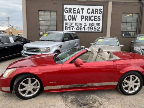 2004 Cadillac XLR for sale at BARCLAY MOTOR COMPANY in Arlington TX