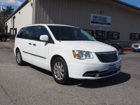 2015 Chrysler Town and Country for sale at Crestwood Auto Sales in Swansea MA