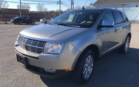 2008 Lincoln MKX for sale at D'Ambroise Auto Sales in Lowell MA