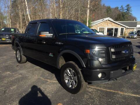 2013 Ford F-150 for sale at Bladecki Auto in Belmont NH