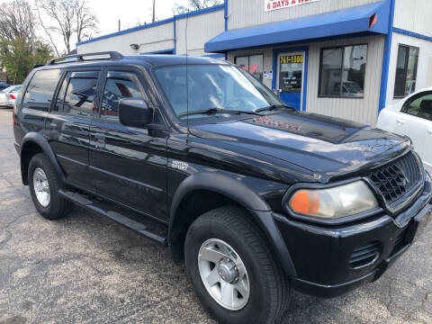 2003 Mitsubishi Montero Sport for sale at Klein on Vine in Cincinnati OH