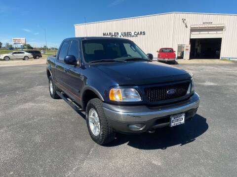 2003 Ford F-150 for sale at MARLER USED CARS in Gainesville TX