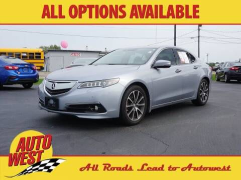 2015 Acura TLX for sale at Autowest of Plainwell in Plainwell MI