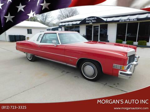 1973 Cadillac Eldorado for sale at Morgan's Auto Inc in Paoli IN