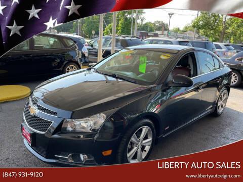 2014 Chevrolet Cruze for sale at Liberty Auto Sales in Elgin IL