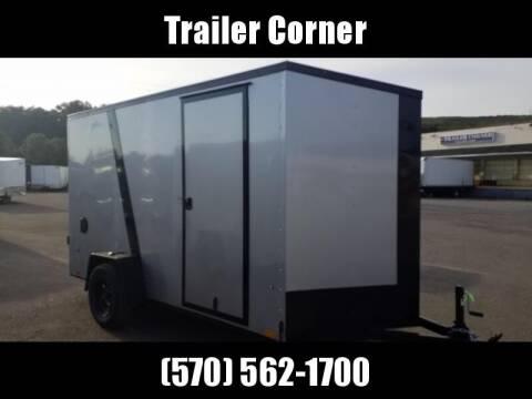 2022 Look Trailers STLC 6X12 - EXT HEIGHT - BLACK