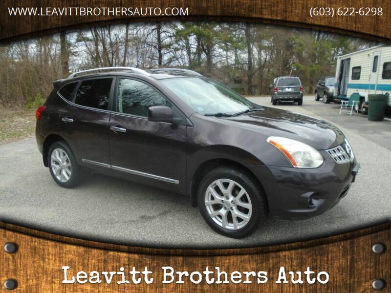 2011 Nissan Rogue for sale at Leavitt Brothers Auto in Hooksett NH