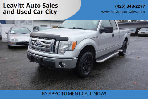 2011 Ford F-150 for sale at Leavitt Auto Sales and Used Car City in Everett WA
