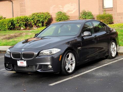 2012 BMW 5 Series for sale at SEATTLE FINEST MOTORS in Lynnwood WA