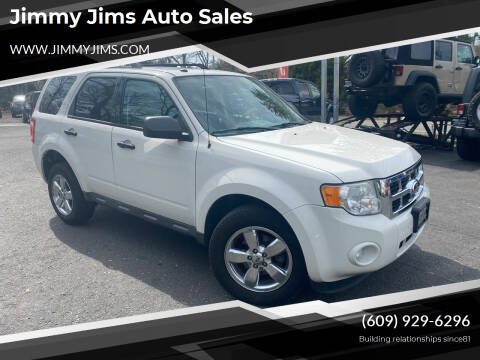 2010 Ford Escape for sale at Jimmy Jims Auto Sales in Tabernacle NJ