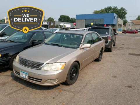 2002 Toyota Avalon for sale at Tower Motors in Brainerd MN