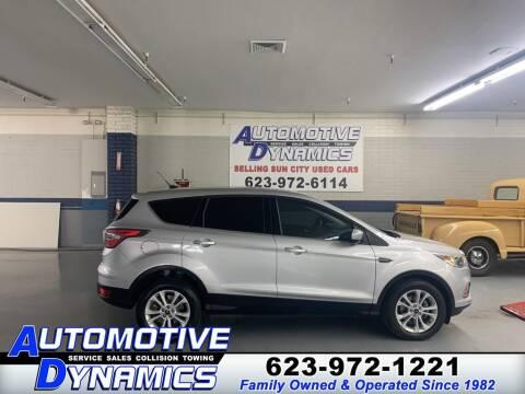 2017 Ford Escape for sale at Automotive Dynamics in Sun City AZ