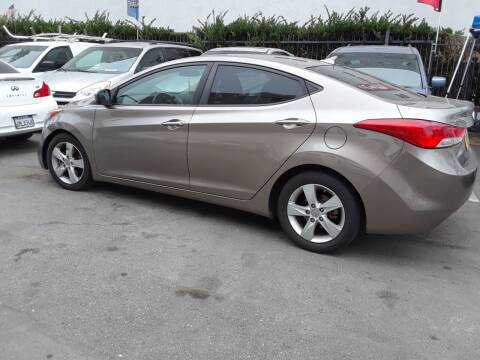 2013 Hyundai Elantra for sale at Western Motors Inc in Los Angeles CA