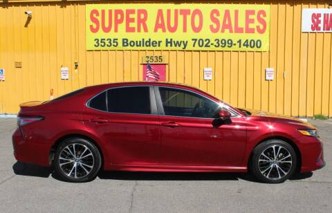 2018 Toyota Camry for sale at Super Auto Sales in Las Vegas NV