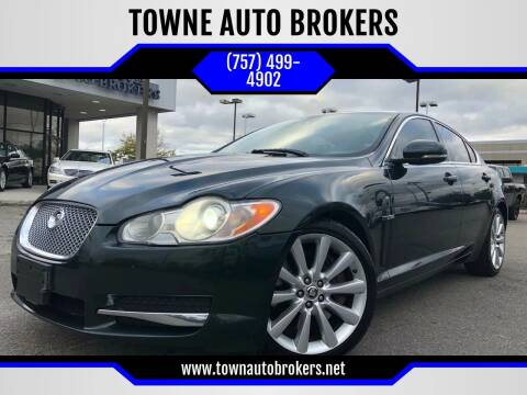 2011 Jaguar XF for sale at TOWNE AUTO BROKERS in Virginia Beach VA