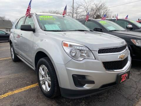 2015 Chevrolet Equinox for sale at Zs Auto Sales in Kenosha WI