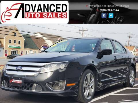 2010 Ford Fusion for sale at Advanced Auto Sales in Dracut MA