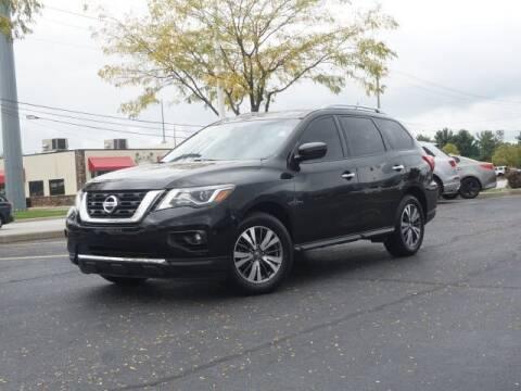 2018 Nissan Pathfinder for sale at BASNEY HONDA in Mishawaka IN