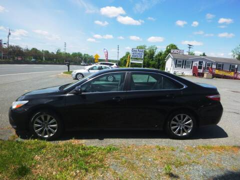 2016 Toyota Camry for sale at Cove Point Auto Sales in Joppa MD