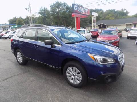 2017 Subaru Outback for sale at Comet Auto Sales in Manchester NH