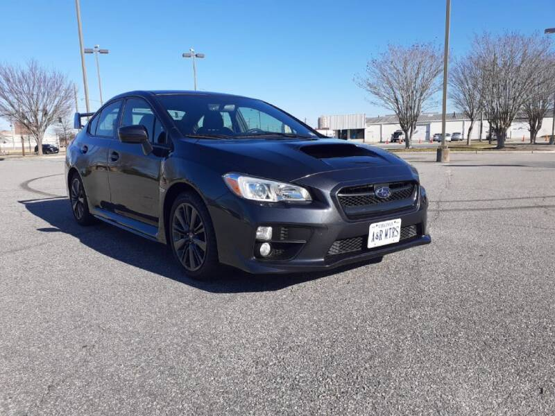 2017 Subaru WRX for sale at A&R MOTORS in Portsmouth VA