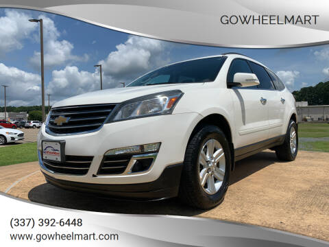 2014 Chevrolet Traverse for sale at GOWHEELMART in Leesville LA