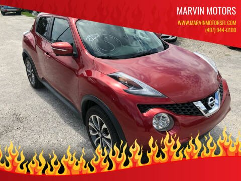 2017 Nissan JUKE for sale at Marvin Motors in Kissimmee FL