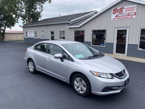 2014 Honda Civic for sale at B & B Auto Sales in Brookings SD