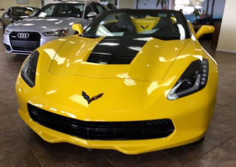 2015 Chevrolet Corvette for sale at Suncoast Sports Cars and Exotics in West Palm Beach FL