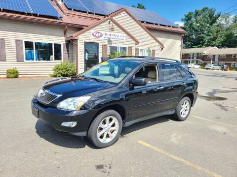2008 Lexus RX 350 for sale at V & F Auto Sales in Agawam MA