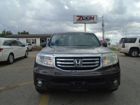 2012 Honda Pilot for sale at Zoom Auto Sales in Oklahoma City OK