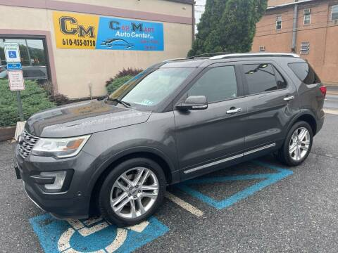 2016 Ford Explorer for sale at Car Mart Auto Center II, LLC in Allentown PA