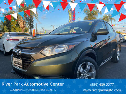 2017 Honda HR-V for sale at River Park Automotive Center in Fresno CA