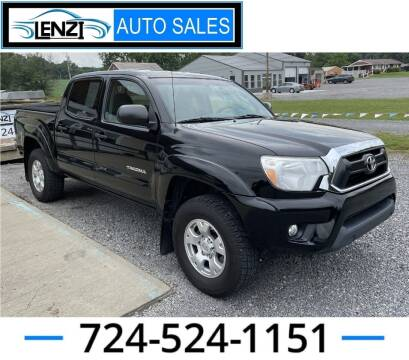 2015 Toyota Tacoma for sale at LENZI AUTO SALES in Sarver PA
