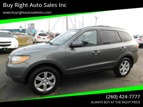 2009 Hyundai Santa Fe for sale at Buy Right Auto Sales Inc in Fort Wayne IN
