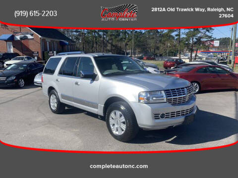 2011 Lincoln Navigator for sale at Complete Auto Center , Inc in Raleigh NC