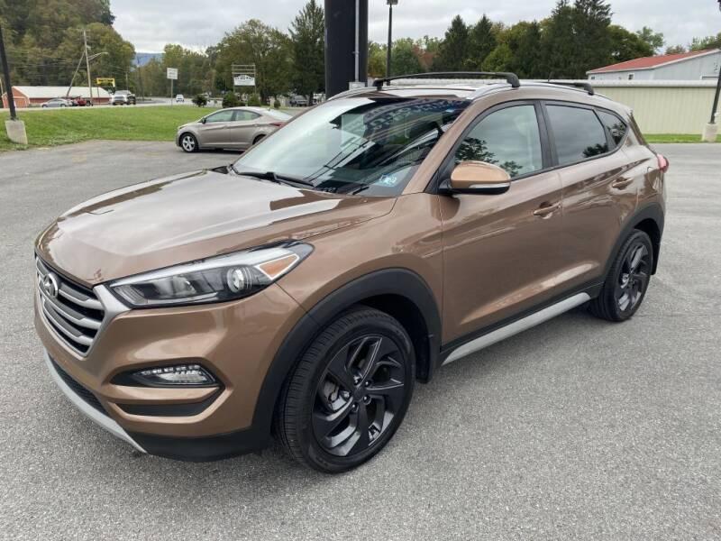 2017 Hyundai Tucson for sale at Alexandria Auto Mart LLC in Alexandria PA