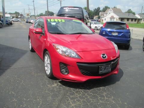 2012 Mazda MAZDA3 for sale at GREG'S EAGLE AUTO SALES in Massillon OH