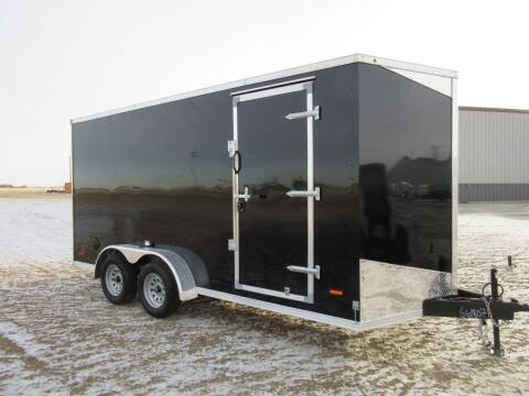 2021 MTI 7' x 16' for sale at Nore's Auto & Trailer Sales - Enclosed Trailers in Kenmare ND