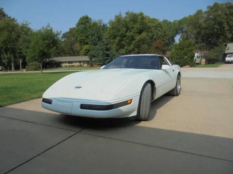 1991 Chevrolet Corvette for sale at D & P Sales LLC in Wichita KS