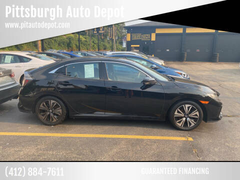 2017 Honda Civic for sale at Pittsburgh Auto Depot in Pittsburgh PA